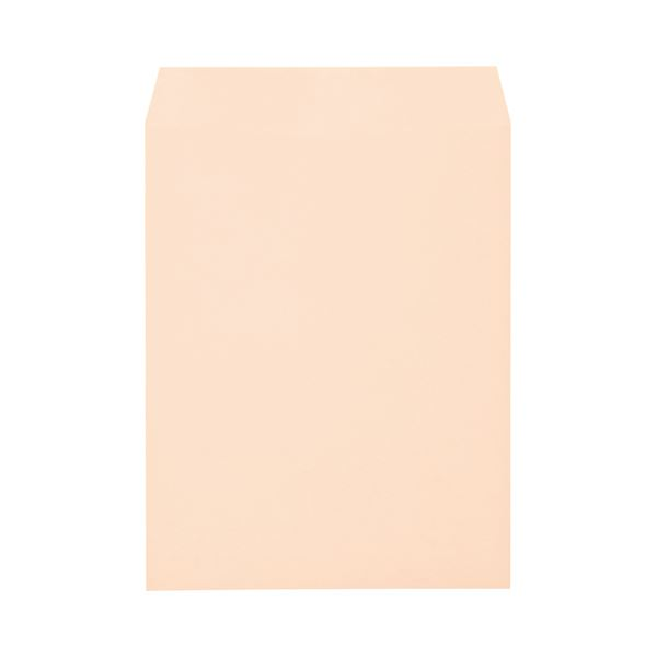 (まとめ) キングコーポレーション ソフトカラー封筒 角3 100g/m2 ピンク K3S100P 1パック(100枚) 【×10セット】