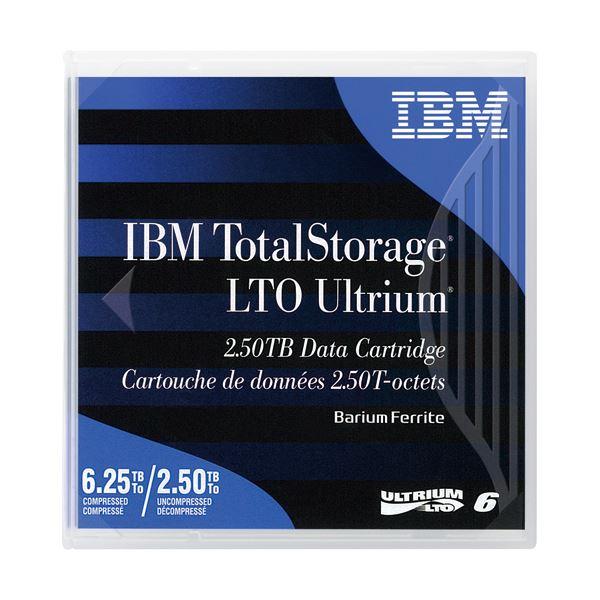 記録メディア 磁気テープ LTO Ultrium (まとめ)IBM LTO Ultrium6 データカートリッジ 2.5TB/6.25TB 00V7590 1巻【×3セット】