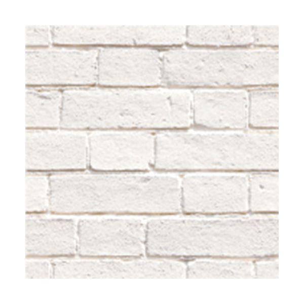 (まとめ)カモ井加工紙 mt CASA シート壁用 白レンガ柄 MT03WS2306 3枚パック(×20セット)