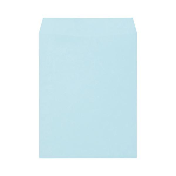 (まとめ) キングコーポレーション ソフトカラー封筒 角3 100g/m2 ブルー K3S100B 1パック(100枚) 【×10セット】