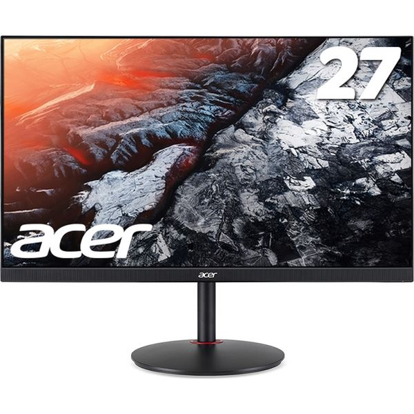 27インチゲーミング液晶モニター XV272UPbmiiprzx(IPS/非光沢/2560×1440/WQHD/144Hz/400cd/1ms/FreeSync/HDR400/HDMI・DisplayPort) XV272UPbmiiprzx