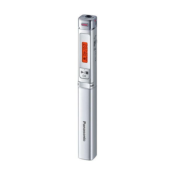 パナソニック ICレコーダー 8GBシルバー RR-XP009-S 1台