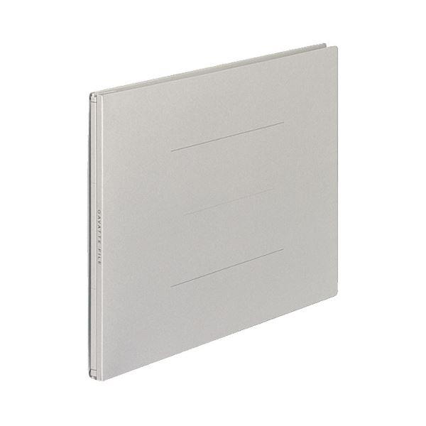 (まとめ) コクヨ ガバットファイル(紙製) A4ヨコ 1000枚収容 背幅13~113mm グレー フ-95M 1パック(10冊) 【×5セット】