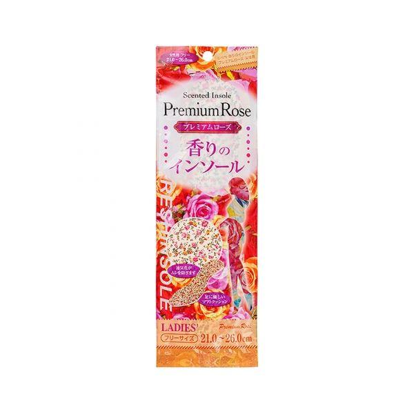 (まとめ) 香りのインソール/中敷き 【プレミアムローズ 女性用】 21.0~26.0cm 【360個セット】