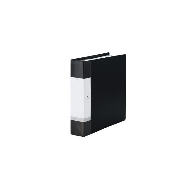 (まとめ)LIHITLAB クリヤーブック リクエストG3808-24 A4S 黒【×10セット】