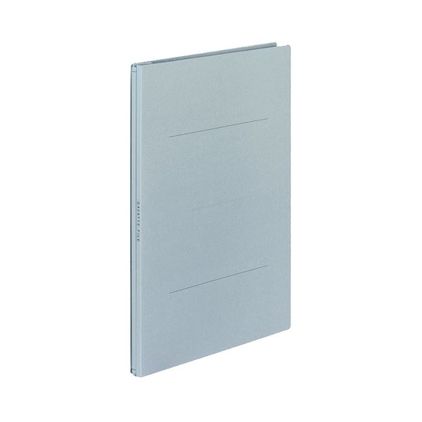 (まとめ) コクヨ ガバットファイル(紙製) A4タテ 1000枚収容 背幅13~113mm 青 フ-90B 1パック(10冊) 【×5セット】