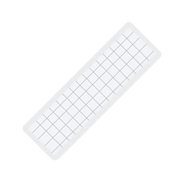 (まとめ) コクヨ マグネット見出し 19×75×1.2mm 白 マク-402W 1個 【×100セット】