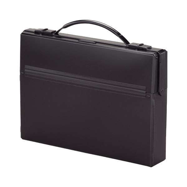 (まとめ)リヒトラブ ダレスバッグ A4収納幅55mm 黒 A-660-24 1セット(5個)【×3セット】