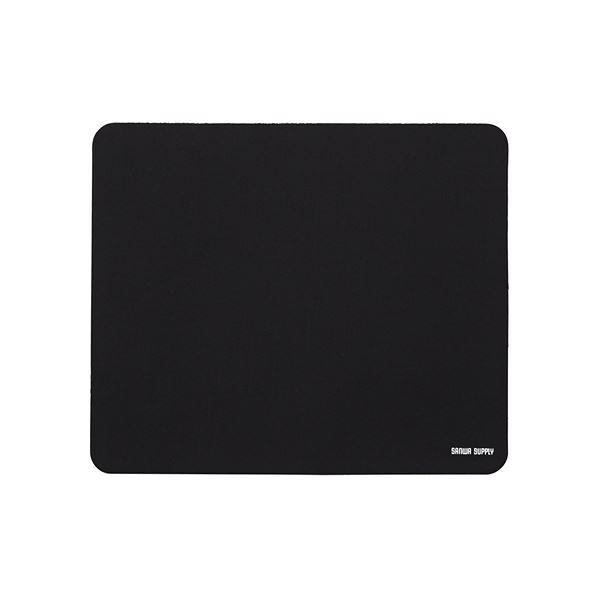 (まとめ) サンワサプライ ネオプレンマウスパッドブラック MPD-56BK 1枚 【×10セット】
