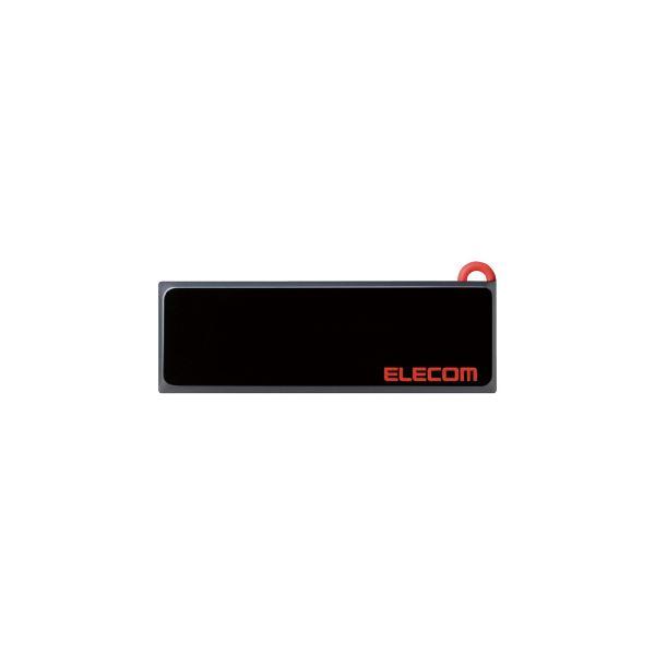 (まとめ)エレコム USBメモリ 16GB MF-KCU3A16GBK【×10セット】