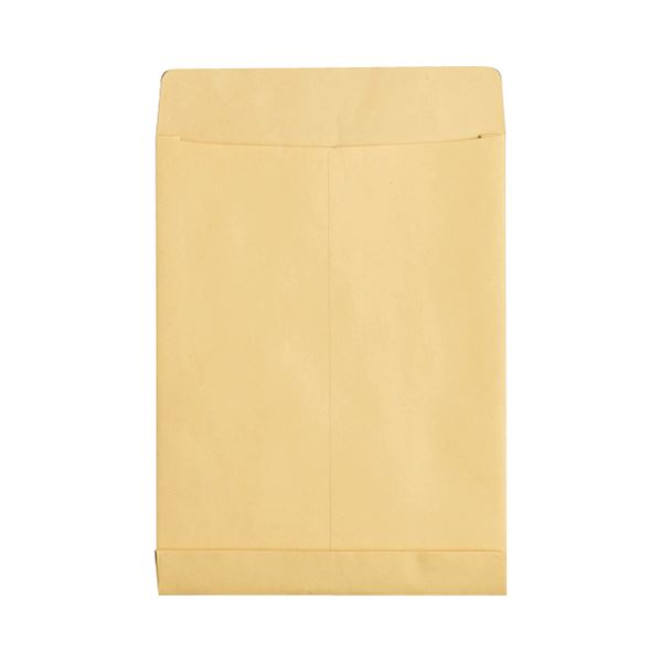 (まとめ) TANOSEE マチ付クラフト大型封筒 A4 120g/m2 1パック(50枚) 【×5セット】