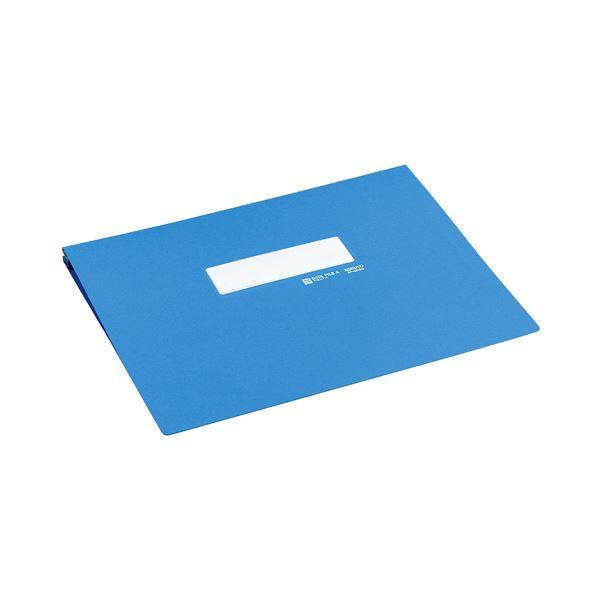 (まとめ) コクヨ データファイルA アンバースト用 Y11~15×T11 1000枚収容 青 EF-251SNB 1冊 【×10セット】
