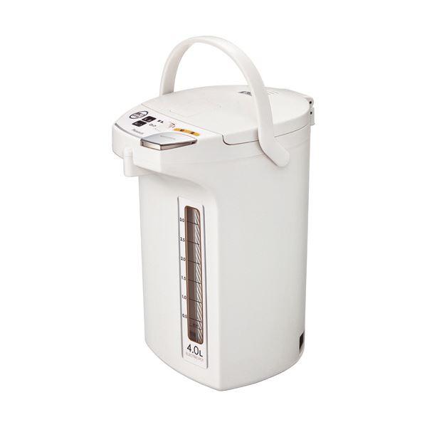 ピーコック 電動給湯ポット 4.0Lホワイト WMJ-40W 1台