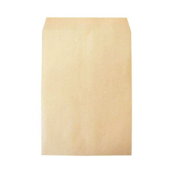 (まとめ)今村紙工 透けないクラフト封筒 裏地紋付角2 テープ付 KFK2-T100 1パック(100枚)【×5セット】
