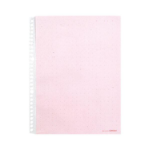 (まとめ) キングジム カラーベースポケットA4タテ 2・4・30穴 赤 103CP 1パック(10枚) 【×30セット】