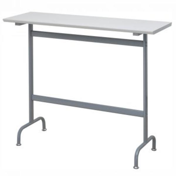 限定Special Price リフレッシュハイテーブル W1200×D400mm ホワイト 新作通販 代引不可 お客様組立品
