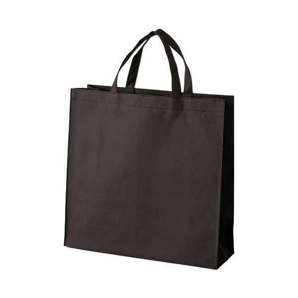 (まとめ) スマートバリュー 不織布手提げバッグ小10枚ブラウンB450J-BR【×10セット】