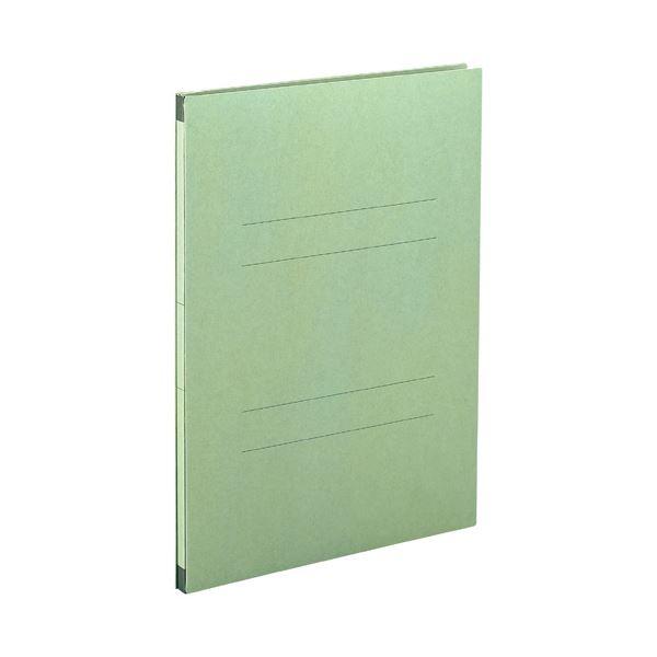 (まとめ) セキセイ のびーるファイル(エスヤード) A4タテ 1000枚収容 背幅17~117mm グリーン AE-50F 1セット(10冊) 【×5セット】