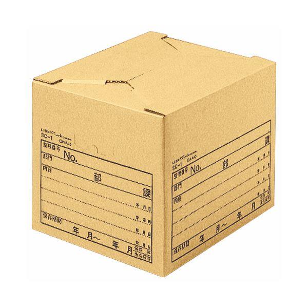 (まとめ)ライオン事務器 ストックケース B4用内寸W435×D330×H300mm SC-1 1セット(10個)【×3セット】