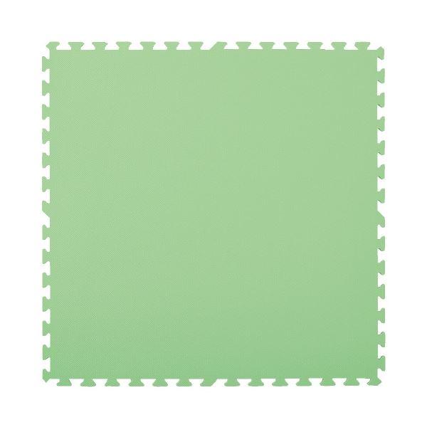 マスセットやわらかEVAマット2枚組(防炎)グリーン