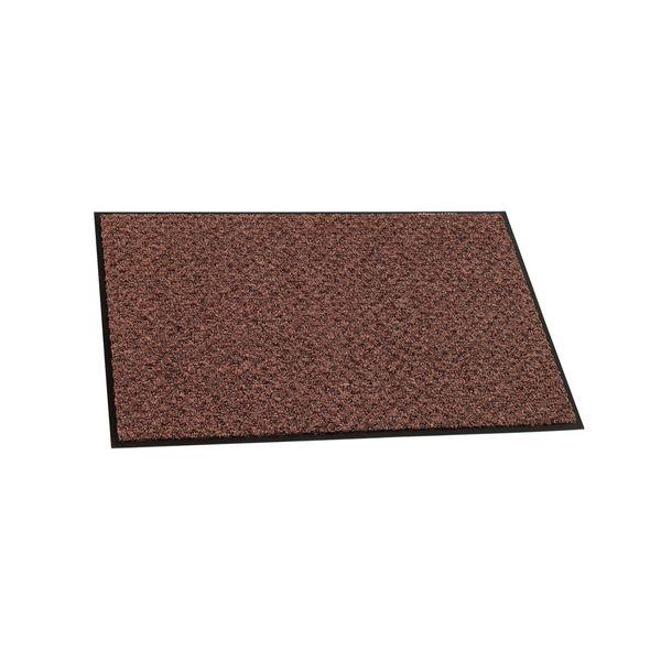 (まとめ)テラモト 玄関マット ハイペアロン 室内/屋内用 600×900mm チョコブラウン MR-038-040-4 1枚【×3セット】