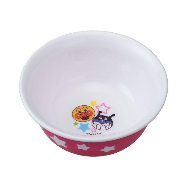 (まとめ)レック アンパンマン ごはん茶碗 ピンク 200ml KK-225 (飯碗 茶碗) 【72個セット】