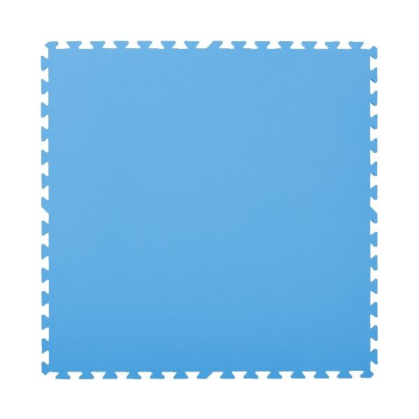 マスセットやわらかEVAマット2枚組(防炎)ブルー