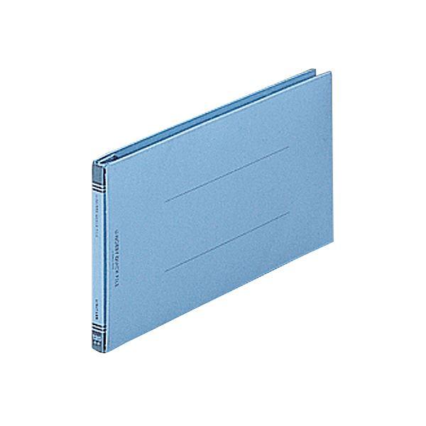(まとめ) リヒトラブ ユーノビクイックファイル 5×11ヨコ 1200枚収容 背幅13~133mm 青 F-580-9 1冊 【×30セット】