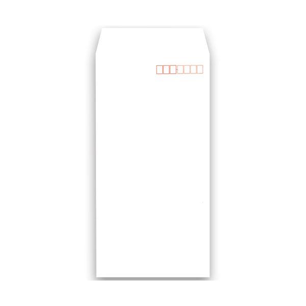 (まとめ)キングコーポレーション ソフトカラー封筒長3 80g/m2 〒枠あり ホワイト 業務用パック 161307 1箱(1000枚)【×3セット】