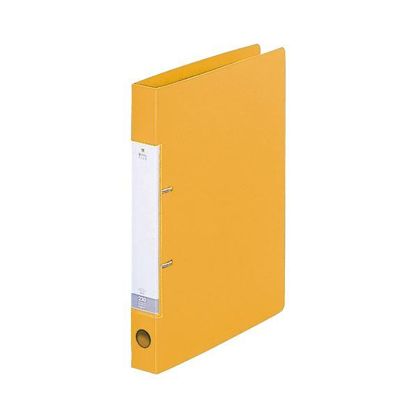 (まとめ) リヒトラブ リクエスト D型リングファイル A4タテ 2穴 230枚収容 背幅34mm 黄 G2220-5 1冊 【×30セット】