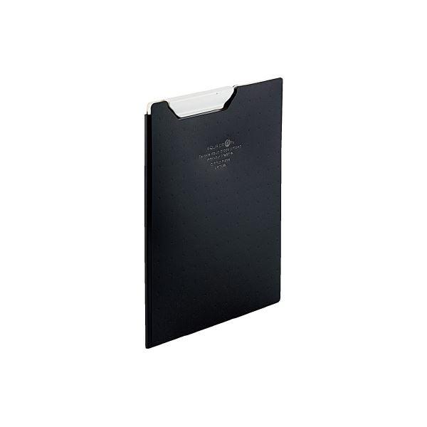 (まとめ)LIHITLAB クリップファイルA5 黒 F-5065-24【×50セット】