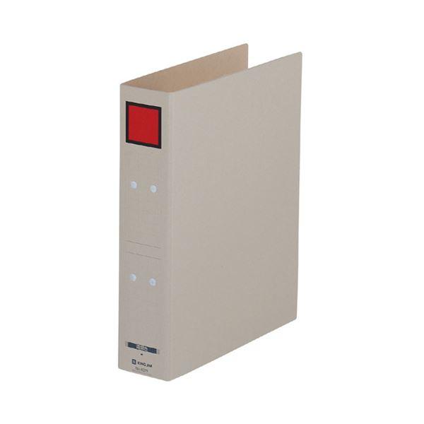 (まとめ) キングジム 保存ファイル ドッチ A4タテ 500枚収容 背幅65mm ピクト赤 4075 1冊 【×30セット】