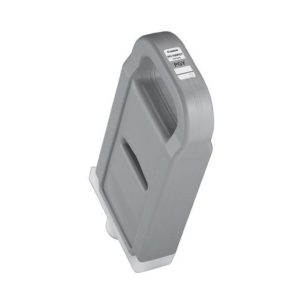 (まとめ) キヤノン Canon インクタンク PFI-706 顔料フォトグレー 700ml 6691B001 1個 【×3セット】