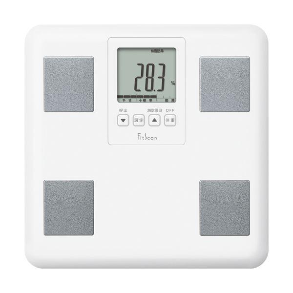 シンプル機能で使いやすい体組成計 まとめ タニタ 体組成計 FitScan 1台 ホワイト 最新アイテム FS-200-WH ×3セット 輸入