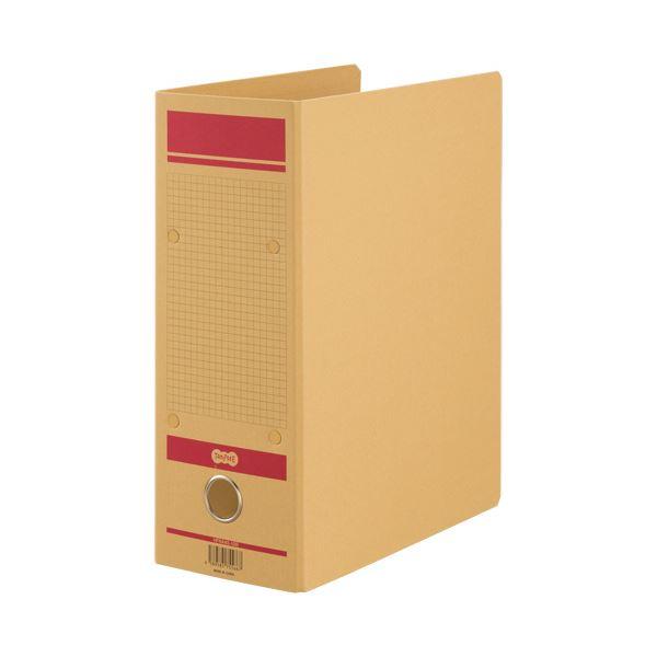 TANOSEE保存用ファイルN(片開き) A4タテ 1000枚収容 100mmとじ 赤 1セット(24冊)