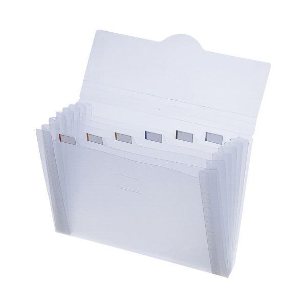 (まとめ)LIHITLAB インナードキュメントファイル A-7700乳白(×50セット)