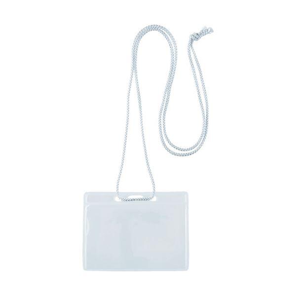 (まとめ) TRUSCO イベント用名札 名刺サイズグレー TNH-34-GY 1袋(10枚) 【×30セット】