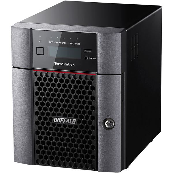 バッファロー TeraStation TS5410DNシリーズ 10GbE標準搭載 法人向け 4ドライブNAS4TB TS5410DN0404