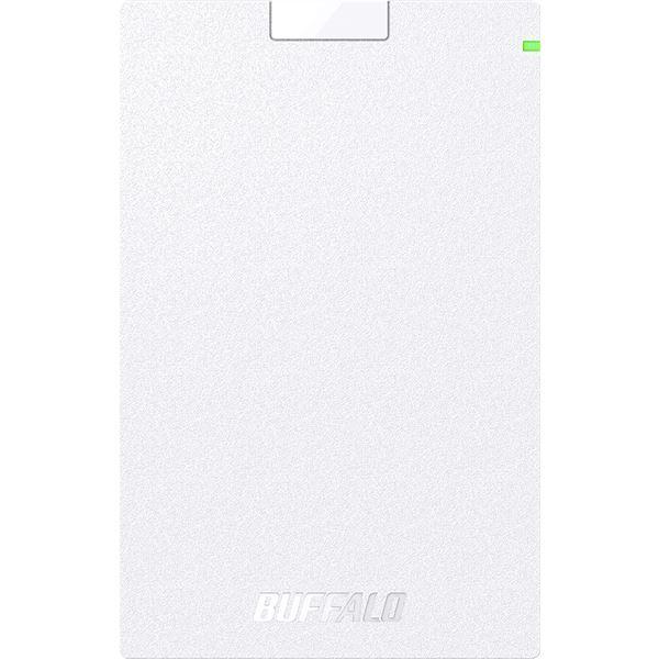 ミニステーション USB3.1(Gen.1)対応 ポータブルHDD スタンダードモデル ホワイト2TB HD-PCG2.0U3-GWA