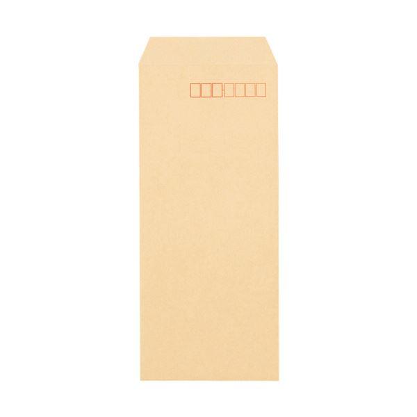 (まとめ)TANOSEE クラフト封筒 テープ付 70g 長40 〒枠あり 1000枚入×3パック【×3セット】
