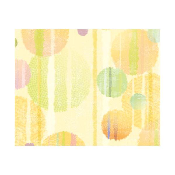 (まとめ) ササガワ 包装紙 かすり 半才判49-1713 1パック(50枚) 【×10セット】