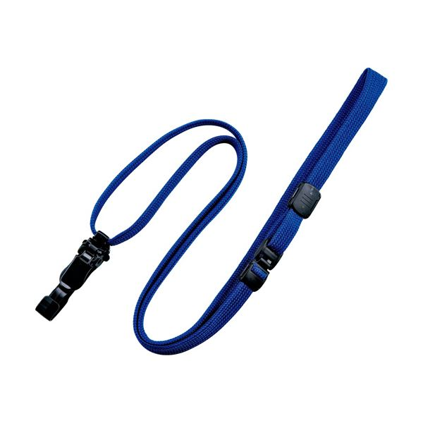 (まとめ) オープン工業 ループクリップ脱着式 青NX-8-BU 1パック(10本) 【×10セット】