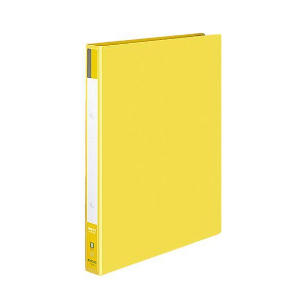 (まとめ) コクヨ リングファイル 色厚板紙表紙 A4タテ 2穴 170枚収容 背幅30mm 黄 フ-420NY 1冊 【×30セット】