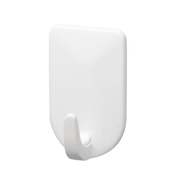 (まとめ)レック ルームフック ホワイト ミニ 3個入り H-274 (フック) 【120個セット】