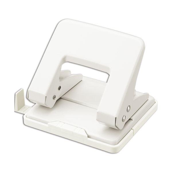 (まとめ) ライオン事務器 2穴パンチ 20枚穿孔ホワイト BP-20 1台 【×30セット】