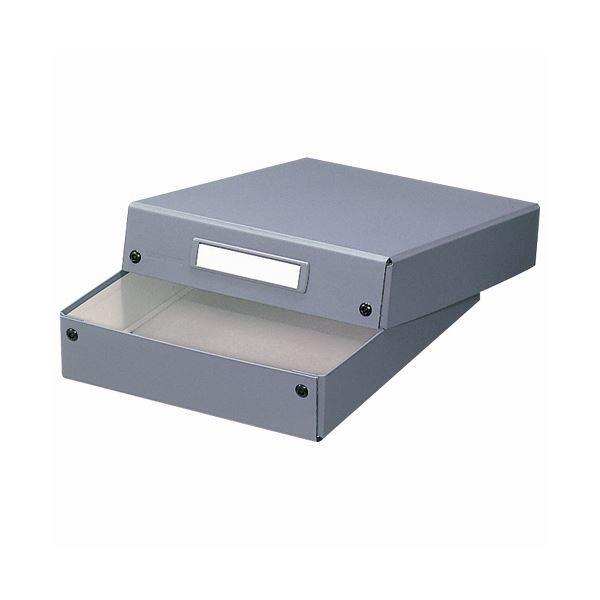 (まとめ) ライオン事務器 デスクトレー A4グレー DT-13 1個 【×10セット】