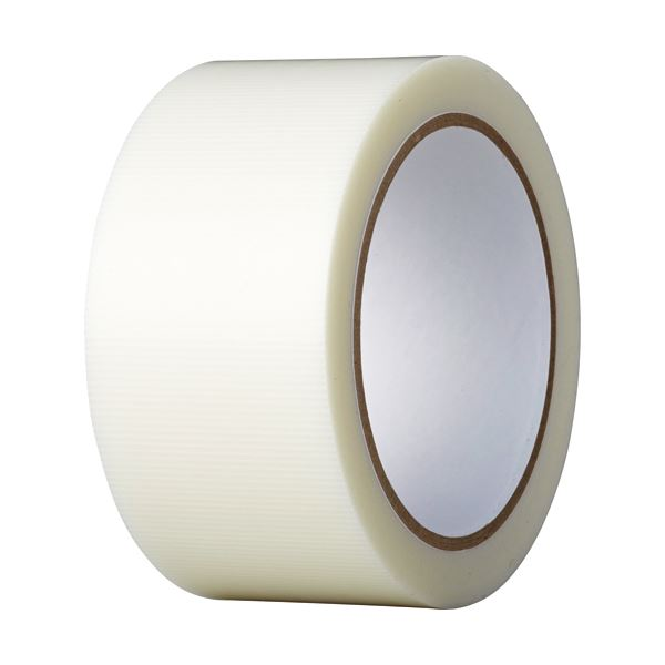(まとめ)養生テープ 50mmx25m 透明【×3セット】