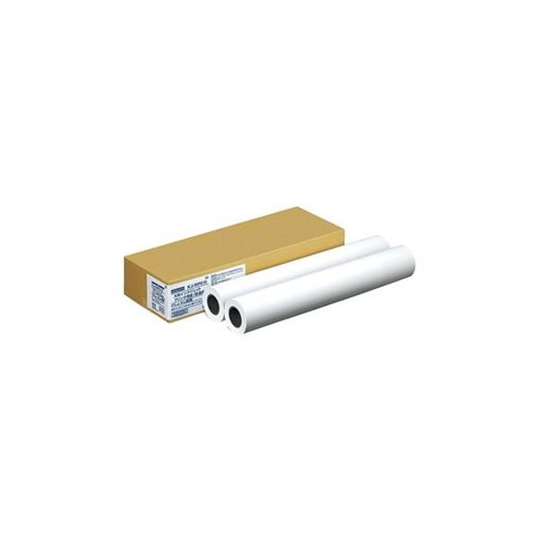 (まとめ)コクヨ大判インクジェットプリンタ用紙普通紙 24インチロール 610mm×50m KJ-WP610 1箱(2本)【×3セット】