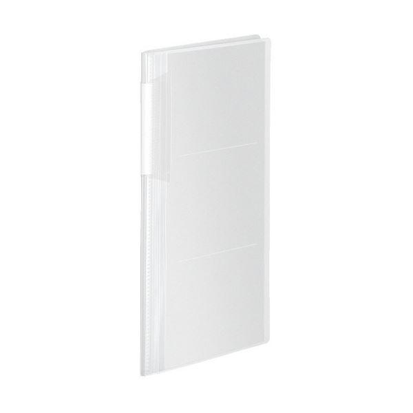 コクヨ フォトアルバム(ノビータ)A4スリム 3段 E・Lサイズ240枚収容 透明 ラ-NA240T 1セット(10冊)
