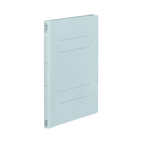 (まとめ) コクヨ フラットファイル(ダブルとじ具タイプ) A4タテ 150枚収容 背幅18mm 青 フ-VD10B 1セット(10冊) 【×10セット】